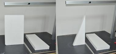 hot wire styrofoam cutting